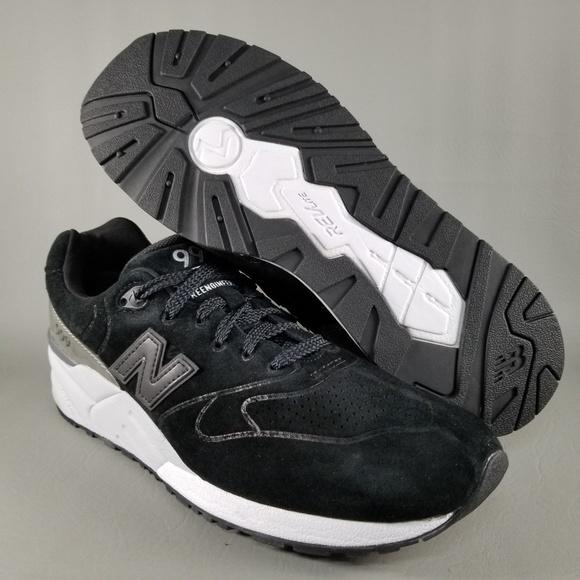 quality design e6d1d 01159 New Balance 999 Mens Suede Athletic Shoes 10 Black NWT